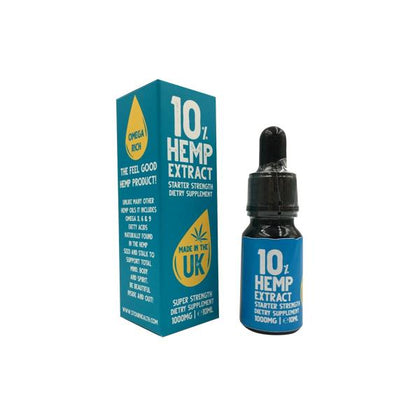 Stour Health 3000mg Hemp Extract - 10ml CBD OILS Stour Health Hemp Oil - 30% strength - 10ml dropper Hemp Extract Oil includes everything you need naturally abundant in chlorophyll, essential fatty acids – Omega 3, 6, 9, amino acids, GLA, VITAMINS E, D, MCT Oil & magnesium. All preserved & intact! Valuable nutrients for optimal overall health inside & out!- Made in the UK!- All natural ingredients;- Available in 10%/20%/30% Hemp Extract Oil;- Zero THC;- Works as a dietary supplement;- Natural
