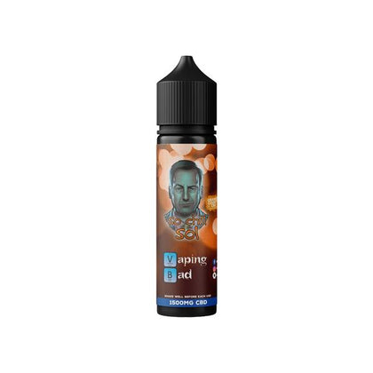 Vaping Bad by Orange County CBD 1500mg 50ml E-liquid (60VG/40PG)