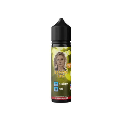 Vaping Bad by Orange County CBD 2500mg 50ml E-liquid (60VG/40PG)
