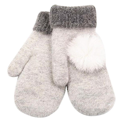 Warm Wool Mittens (6 Colors)