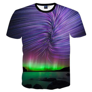 Majestic Northern Lights Tee - The Hoodie Hut