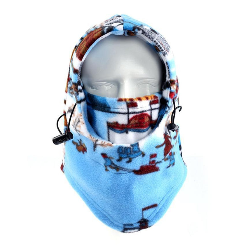 Adjustable Blue Winter Ski/Face Mask