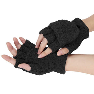 Convertible Fingerless Gloves/Mittens (6 Colors)