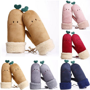 Cute and Cheeky Mittens (5 Colors)