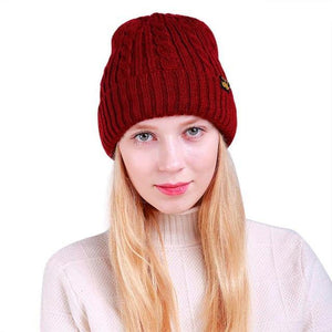 Baggy Knitted Beanie (5 Colors) - The Hoodie Hut