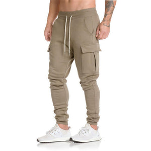 Khaki Harem Sweatpants - The Hoodie Hut