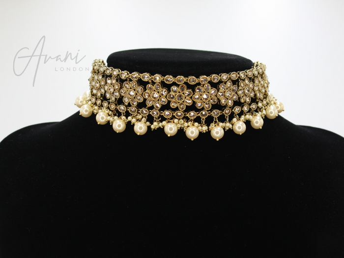 Reeva Choker Set | Avani London | Inspirational Indian Jewellery