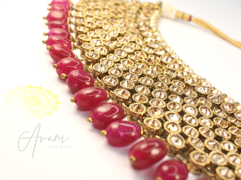 Priti Necklace Set