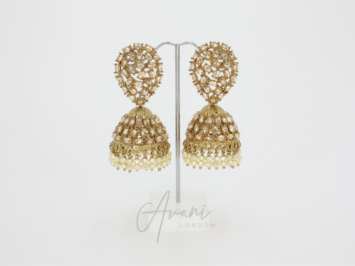 Kaya Jhumka Earrings