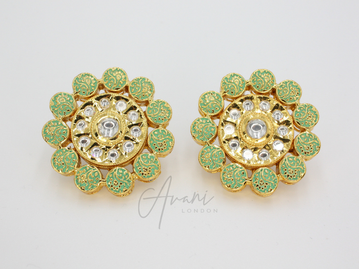 Abha - Signature Kundan Tops | Avani London | Inspirational Indian Jewellery