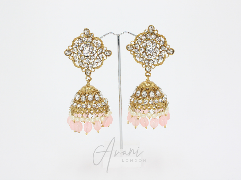 Hena - Pink | Avani London | Inspirational Indian Jewellery