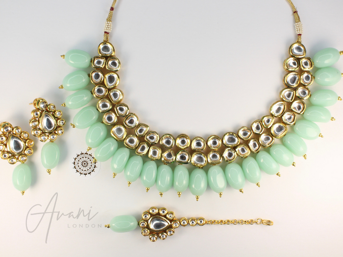 Maisa - Kundan Necklace Set | Avani London | Inspirational Indian Jewellery