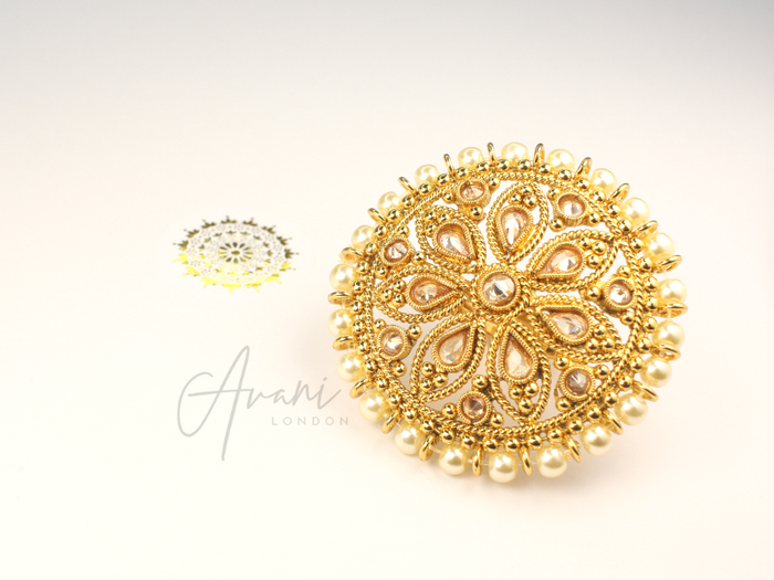 Rani Ring | Avani London | Inspirational Indian Jewellery