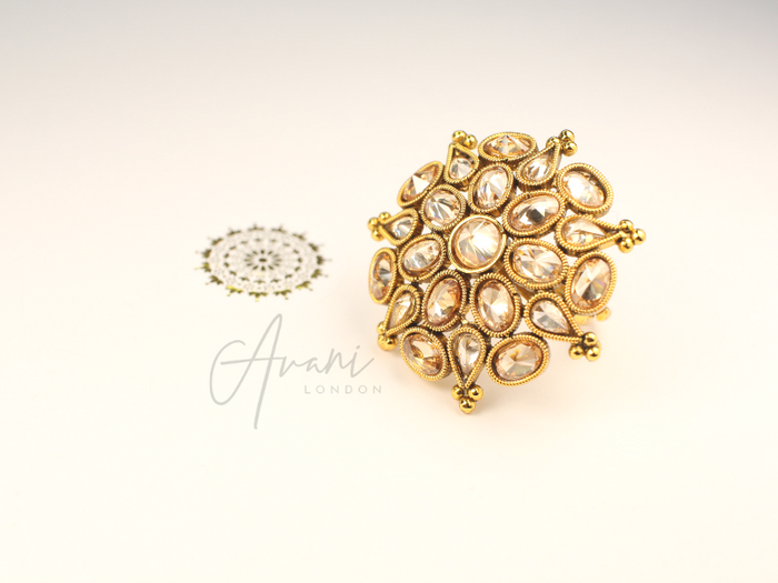 Sheetal Ring | Avani London | Inspirational Indian Jewellery