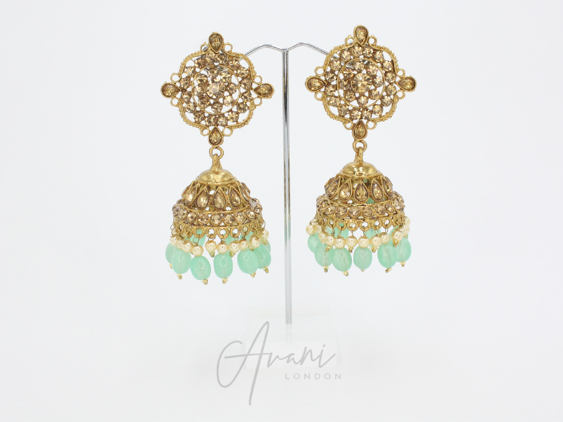 Hena - Mint | Avani London | Inspirational Indian Jewellery
