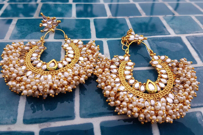 Pia Earrings | Avani London | Inspirational Indian Jewellery