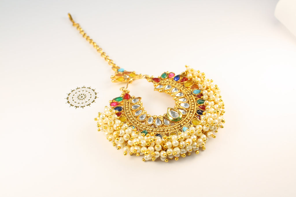 Pia - Rainbow Tikka | Avani London | Inspirational Indian Jewellery