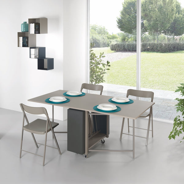 Ensemble fold ~ console dining table + chairs - Spaceman HK