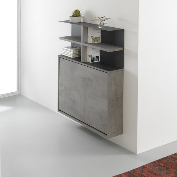 Ensemble mini shelves ~ wall mounted table + chairs - Spaceman HK