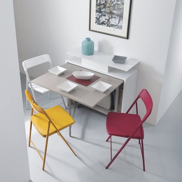 Ensemble storage ~ dining table + hidden chairs - Spaceman HK
