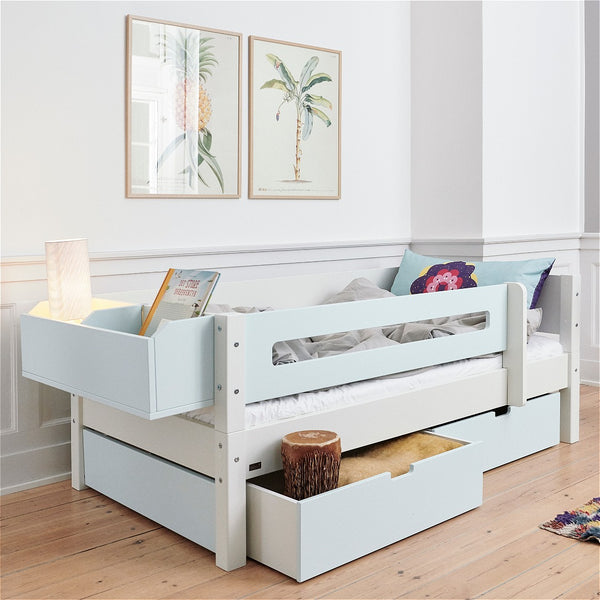 Cascade Compact (low) - Kid's bed with storage or trundle from 160cm long - Spaceman HK