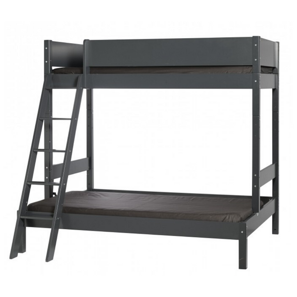 Pyramid Compact ~ Double plus single bunk bed from 170cm long - Spaceman HK