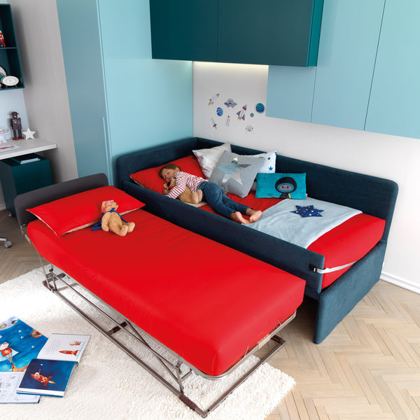 Skid ~ kids bed with drawers or trundle - Spaceman HK