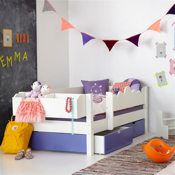 Cascade Compact (low) - Kid's bed with storage or trundle from 160cm long