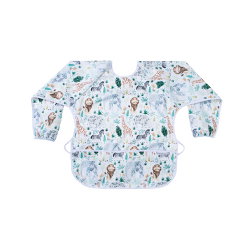 Long Sleeve Junior Apron - Safari