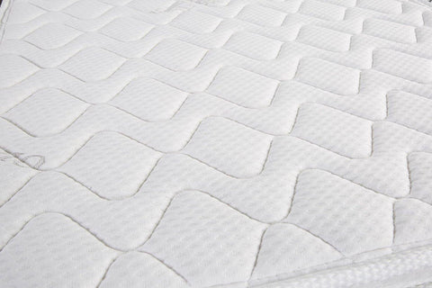 "Home Life® Organic Cotton Euro-Top 8"" Pocket Spring Mattress"
