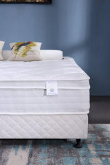 "Oliver Smith® Organic Cotton 12"" Firm Mattress With Cool Memory Foam &  Pocket Spring"
