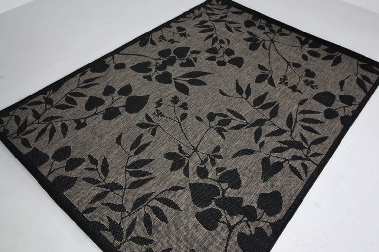 translation missing: en.Jute Collection® Grey Branches Design Jute Area Rug - HomeLife Company