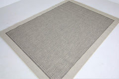 Jute Collection® Neutral Plain Design Jute Area Rug