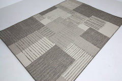 Jute Collection® Neutral Modern Design Jute Area Rug