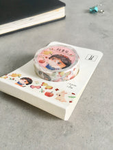 Snow White Cat Washi Tape