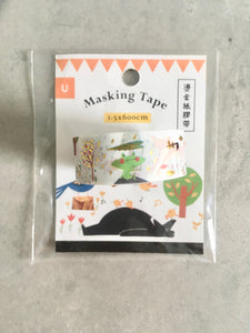 Life in the Woods Washi Tape