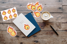 Calcifer table example stickers
