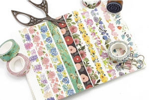 Floral Washi Tape swatch