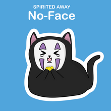 Ghibli Cats Stickers No-Face