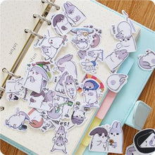 chubby bunny sticker set planner