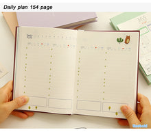 Undated Planner Notebook