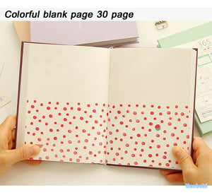 Undated Planner Notebook Blank pages