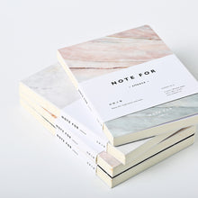 Marble A5 Notebook stack