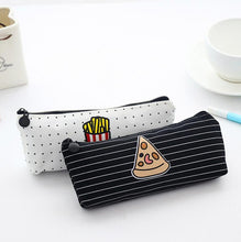 Fast Food Pencil Case pizza and fries