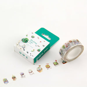 Little Succulents Washi Tape