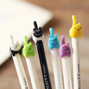 Excited Kitten Mechanical Pencil 0.5mm - 6pcs