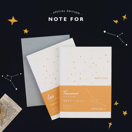Above the skies constellation notebook