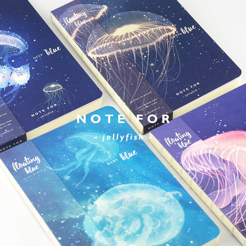 Jelly notebook blank pages