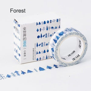 The Blue World Washi Tape Forest
