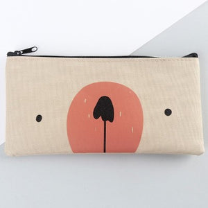 Cute Bear Pencil Bag